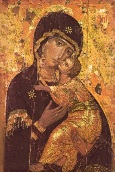 Icon of the Theotokos Virgin Mary