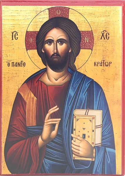 Icon of Jesus Christ the Pantocrator